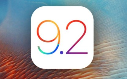 Apple lanza el iOS 9.2