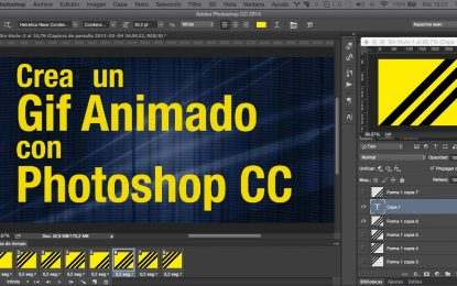 GIF animado con Photoshop