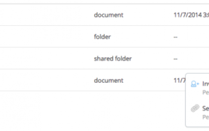 Dropbox añade un nuevo botón de Compartir a su servicio web