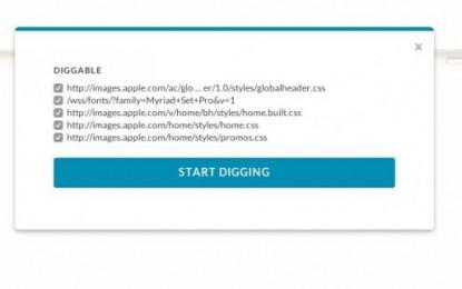 CSS Dig, una extensión chrome para analizar hojas de estilo
