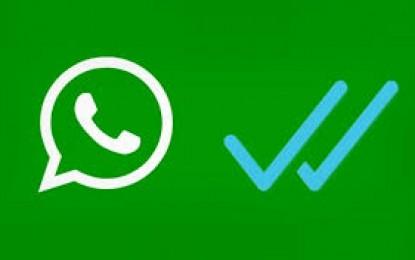 El nuevo doble palomita azul para Whatsapp