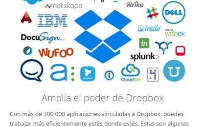 Dropbox presenta su API para negocios, para integrarlo con las aplicaciones de la empresa