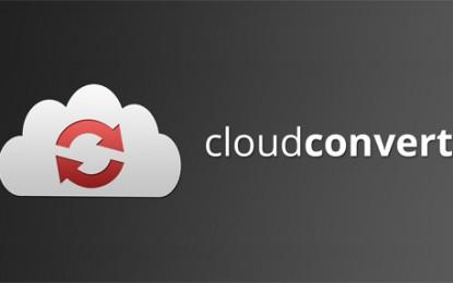 CloudConvert, convertidor de ficheros de audio, vídeo, documentos, ebooks, imágenes y otros tipos