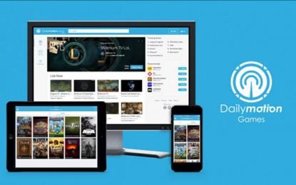 Dailymotion lanza plataforma de streaming para videojuegos