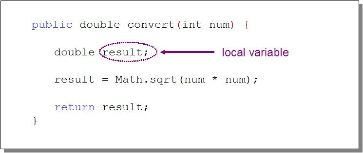 variable local