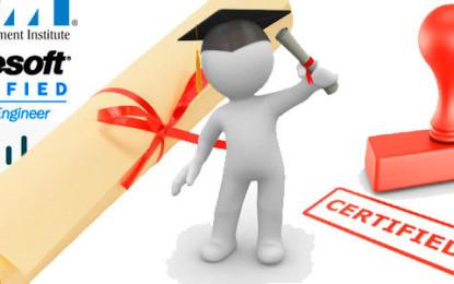 Las certificaciones de programación mejor pagadas
