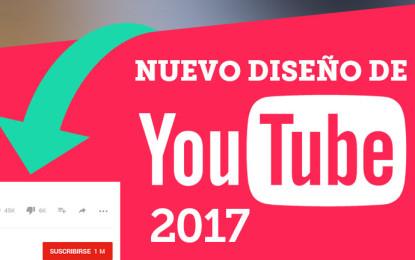 Activa el nuevo diseño de YouTube