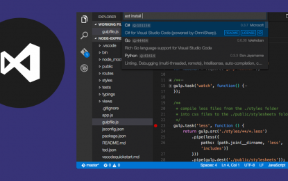 Microsoft Visual Studio Code multiplataforma