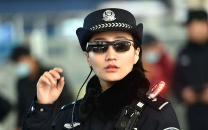 Conoce las Gafas con Reconocimiento Facial que Utiliza la Policía China