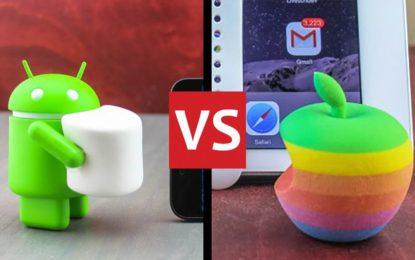 Diferencias de desarrollo de apps Android e iOS