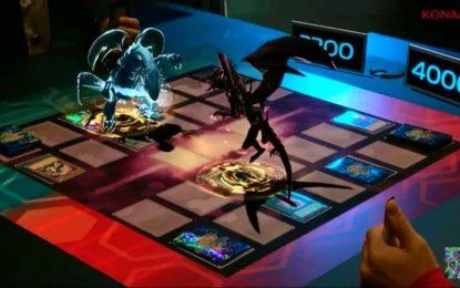 ¡Duelos de Yu-Gi-Oh! en realidad aumentada!