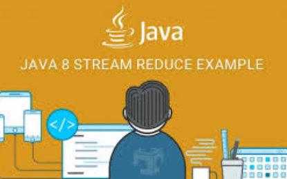 Java Stream Reduce , eliminando bucles